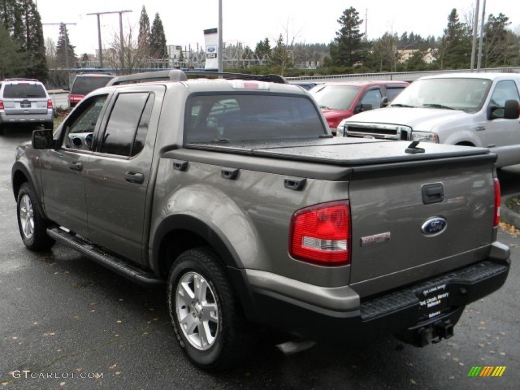 Dark Stone Metallic 2007 Ford Explorer Sport Trac Xlt