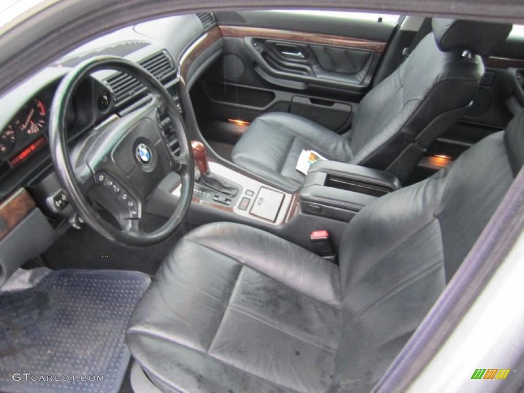 1999 BMW 7 Series 740iL Sedan Interior Photo 59004846