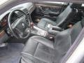 Black 1999 BMW 7 Series Interiors