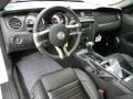 2012 Ford Mustang Charcoal Black/Carbon Black Interior Prime Interior Photo