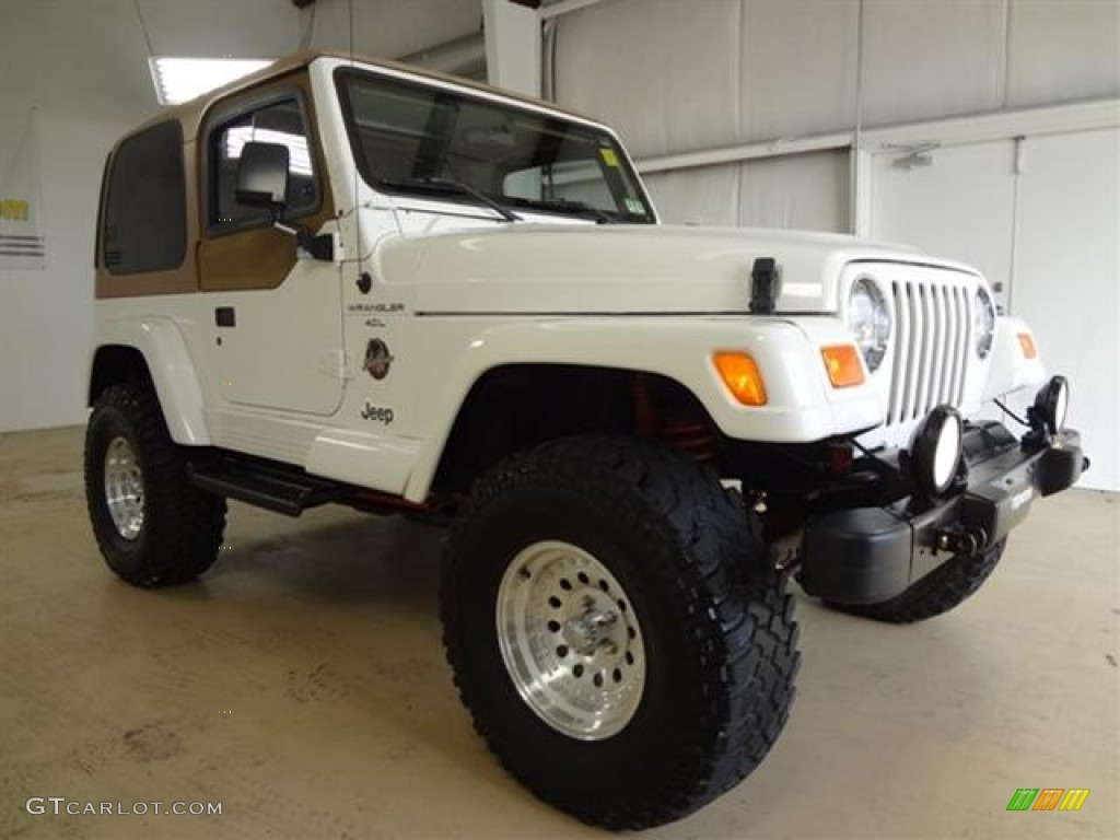 Exceptional 2000 Jeep Wrangler Sahara 4x4 Custom Wheels Photo #59012057