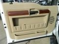 2009 Ford F250 Super Duty Chaparral Leather Interior Door Panel Photo