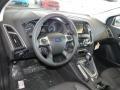 2012 White Platinum Tricoat Metallic Ford Focus Titanium 5-Door  photo #12