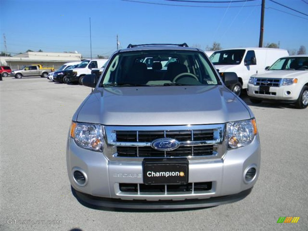 Ingot Silver Metallic Ford Escape