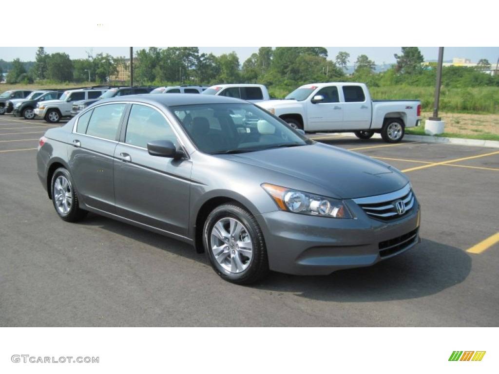 Polished Metal Metallic 2012 Honda Accord Se Sedan