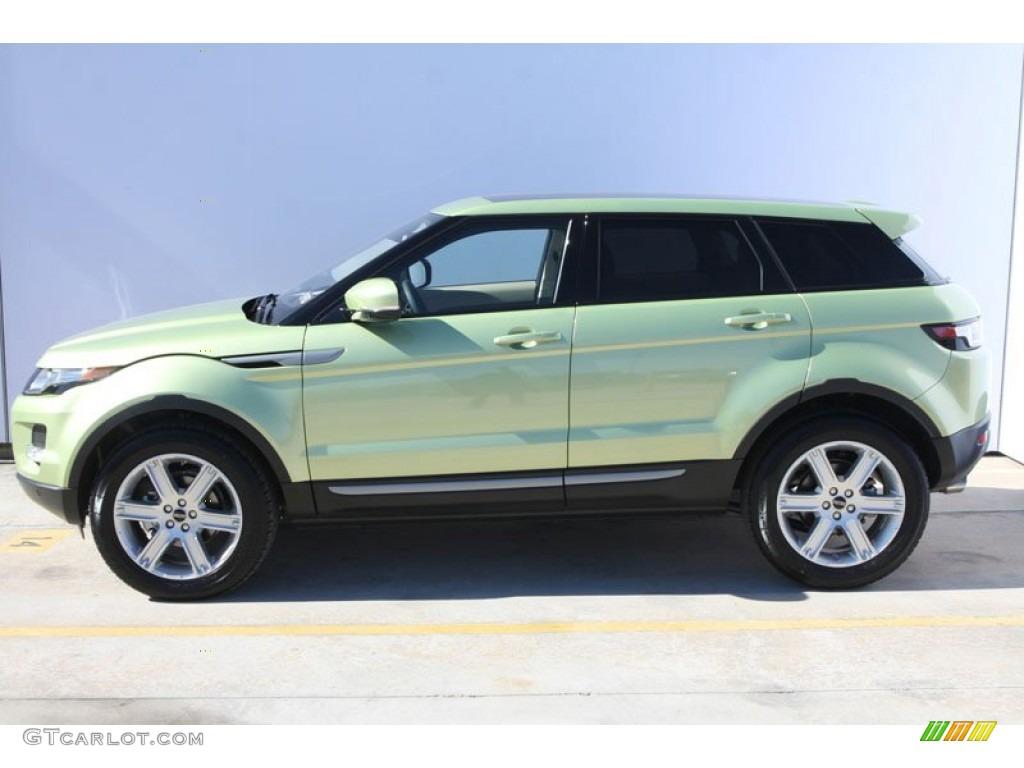 Colima Lime Metallic 2012 Land Rover Range Rover Evoque Pure Exterior Photo 59049358