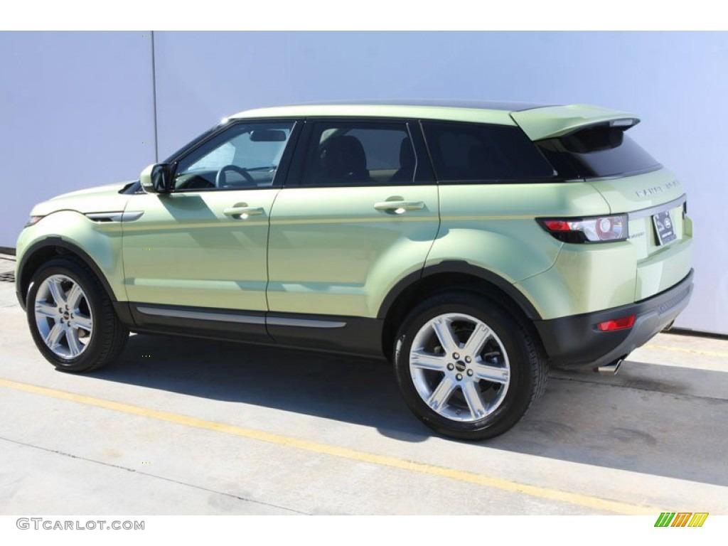 colima lime metallic 2012 land rover range rover evoque pure exterior photo 59049367