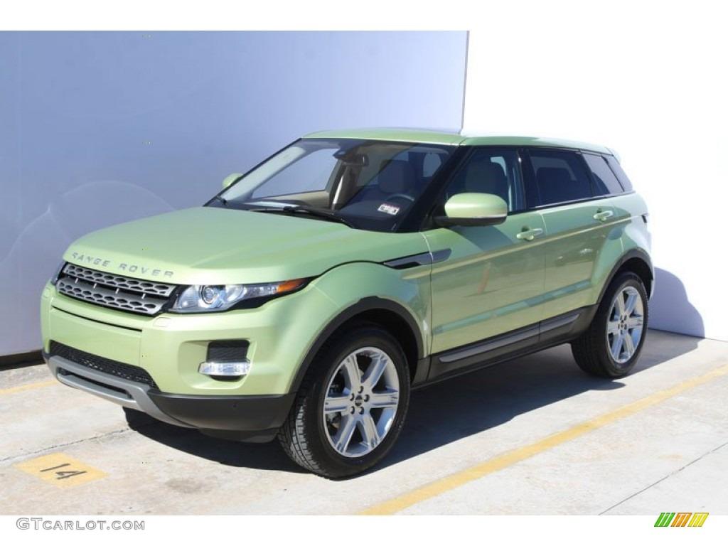 Colima Lime Metallic 2012 Land Rover Range Rover Evoque Pure Exterior Photo 59049373
