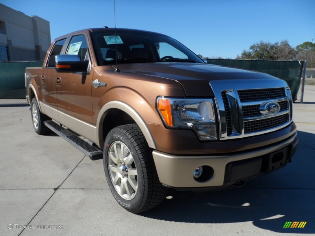 2012 Ford F150 King Ranch SuperCrew 4x4 - Golden Bronze Metallic Color