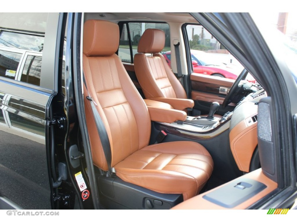 Premium Tan Tan Stitching Interior 2010 Land Rover Range Rover Sport Supercharged Photo