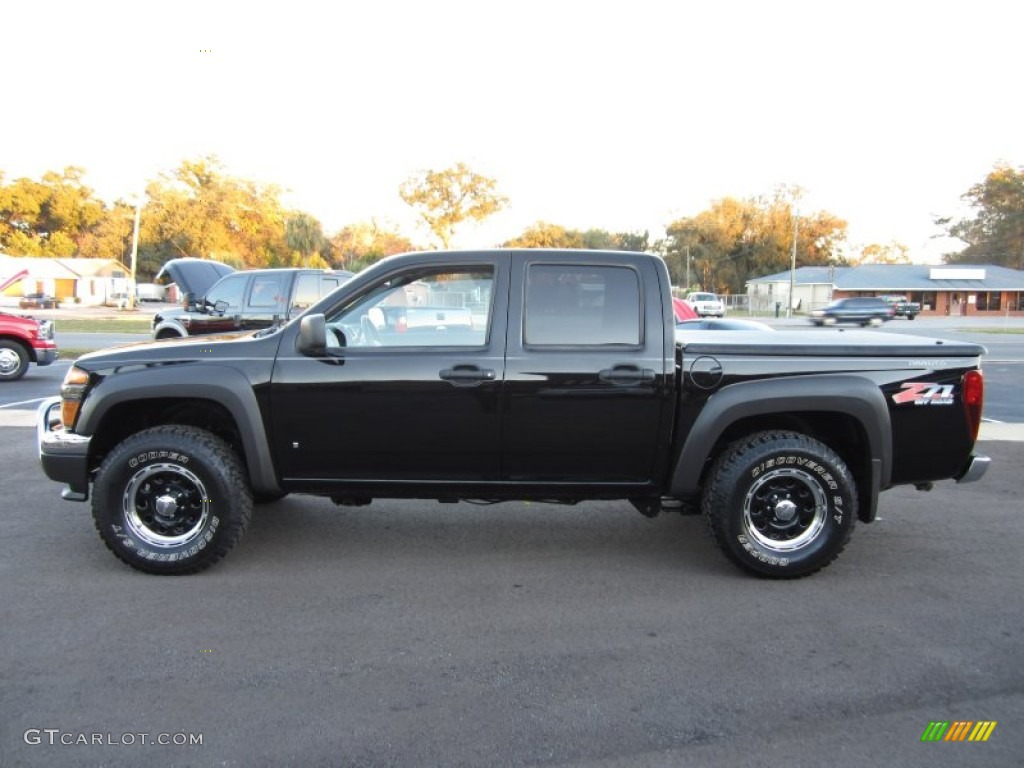 black 2006 chevrolet colorado z71 crew cab exterior photo 59055245. Black Bedroom Furniture Sets. Home Design Ideas