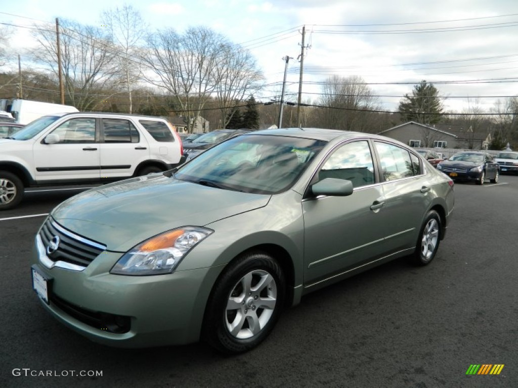 2007 Nissan Altima Sl >> 2008 Metallic Jade Nissan Altima 2.5 S #59054517 | GTCarLot.com - Car Color Galleries