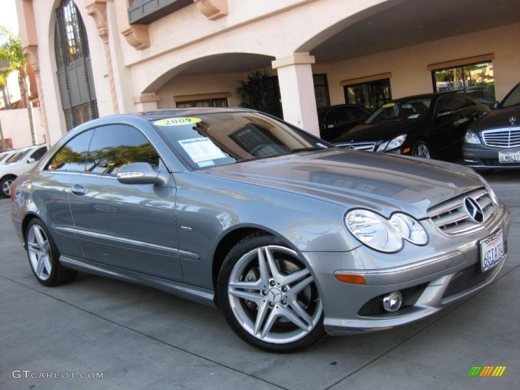 2009 palladium silver metallic mercedes benz clk 350 grand for 2009 mercedes benz clk350