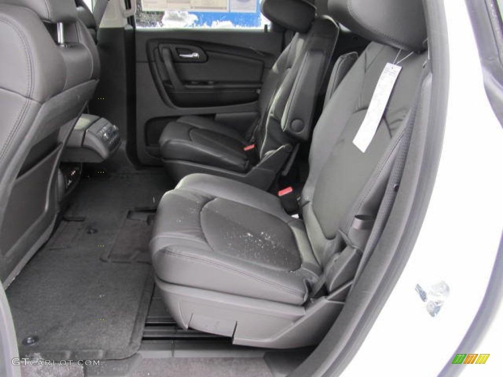 Ebony Interior 2012 Chevrolet Traverse Lt Awd Photo