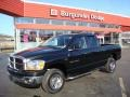 2006 Black Dodge Ram 1500 SLT Quad Cab 4x4  photo #1