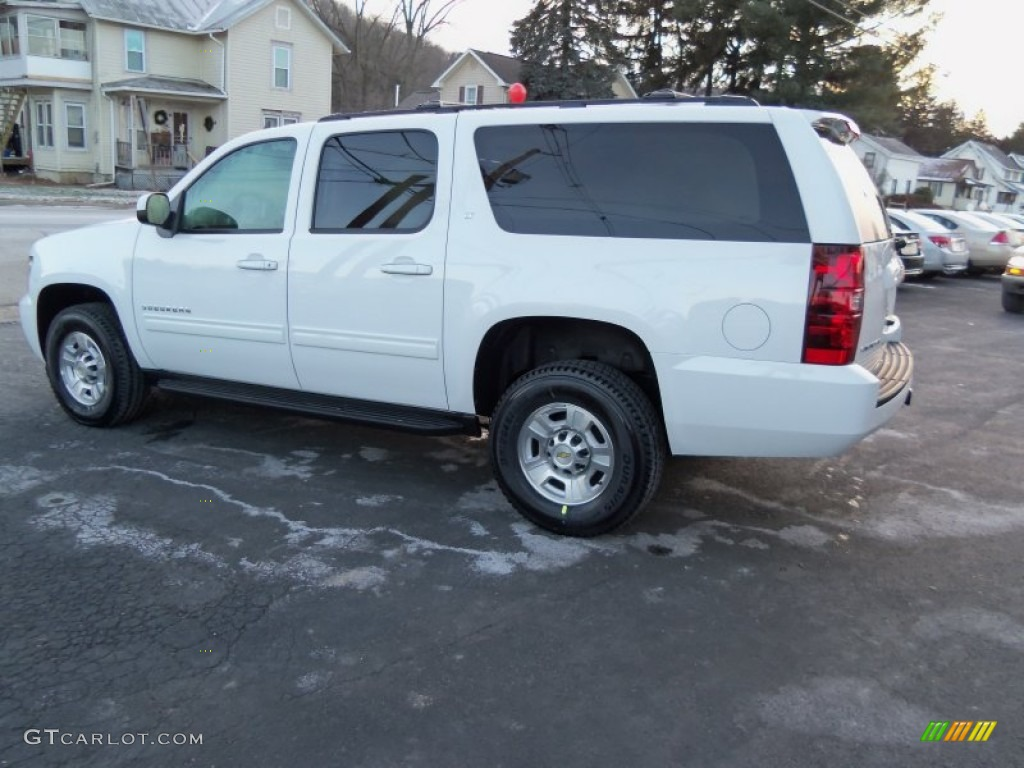 Summit White 2012 Chevrolet Suburban 2500 LT 4x4 Exterior Photo