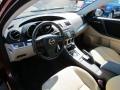 Dune Beige 2010 Mazda MAZDA3 Interiors