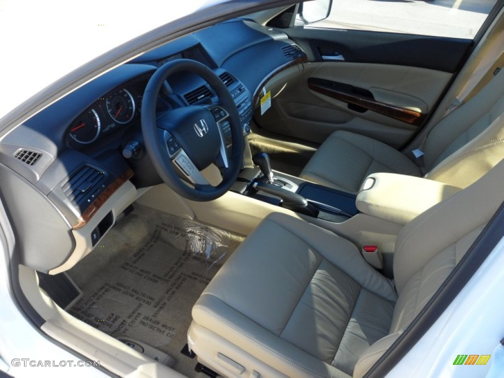 Ivory interior 2012 honda accord ex l v6 sedan photo - 2012 honda accord coupe interior ...