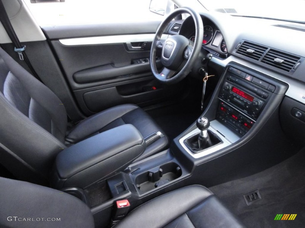Ebony Interior 2006 Audi A4 2 0t Quattro Sedan Photo