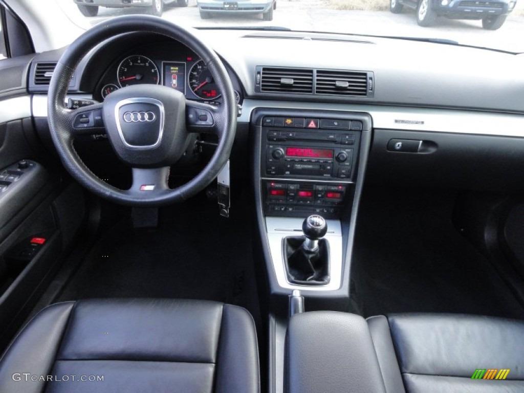 2006 Audi A4 2 0t Quattro Sedan Ebony Dashboard Photo