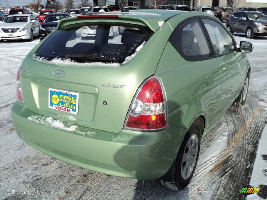 2010 Apple Green Hyundai Accent GS 3 Door 59054367 Photo