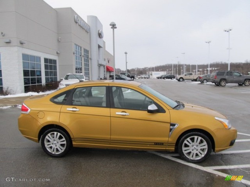 Amber Gold Metal...2009 Ford Focus Sel Specs