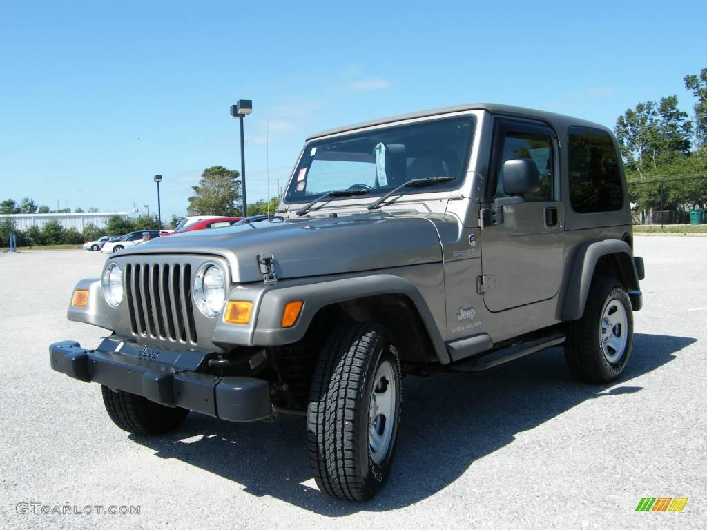 Light Khaki Metallic Jeep Wrangler