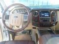 2012 White Platinum Metallic Tri-Coat Ford F250 Super Duty King Ranch Crew Cab 4x4  photo #23