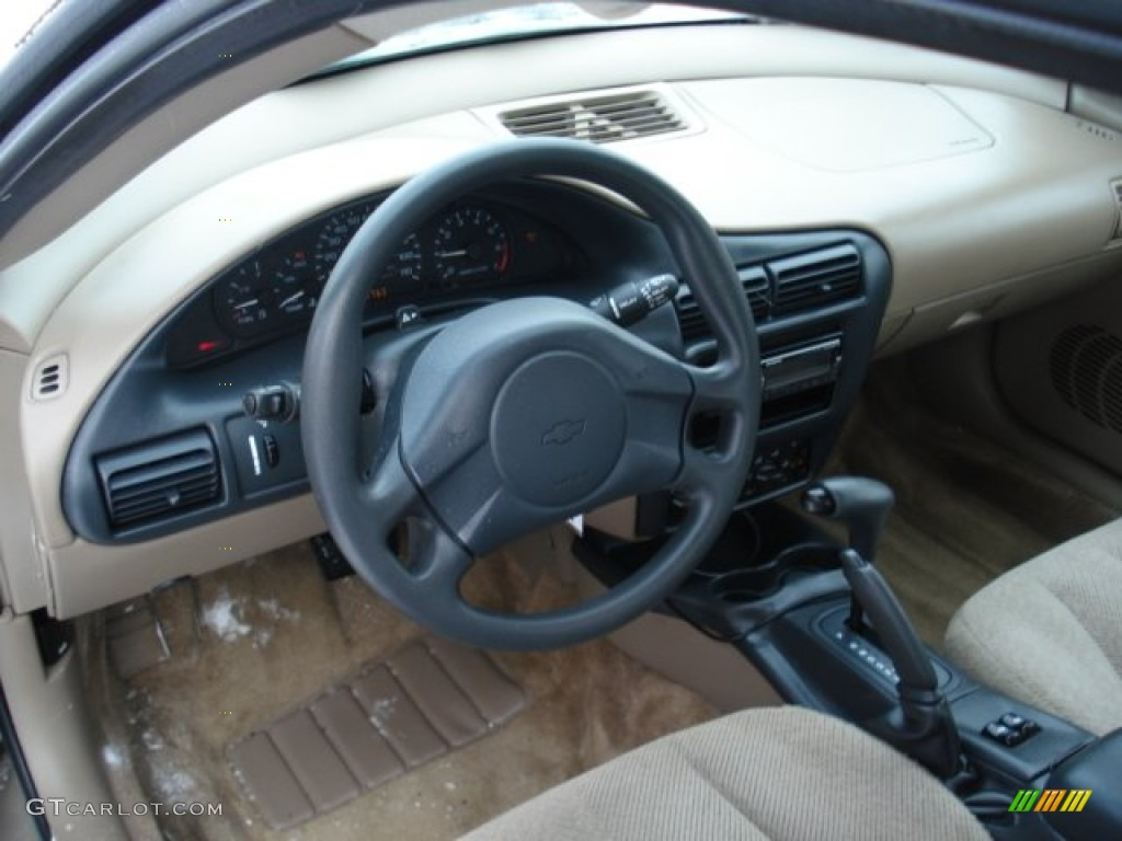 2003 Chevrolet Cavalier LS Coupe Neutral Beige Dashboard Photo #59115164