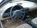 Neutral Beige 2003 Chevrolet Cavalier LS Coupe Dashboard