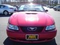 2000 Laser Red Metallic Ford Mustang GT Convertible  photo #8