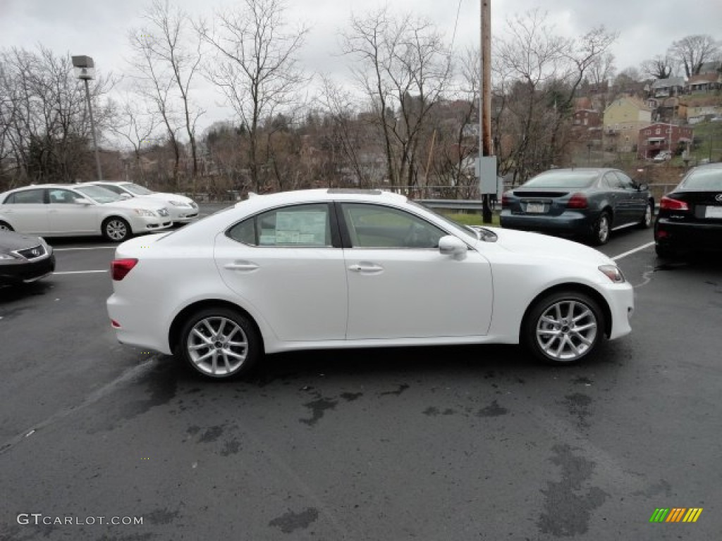 starfire white pearl 2012 lexus is 250 awd exterior photo 59116295. Black Bedroom Furniture Sets. Home Design Ideas