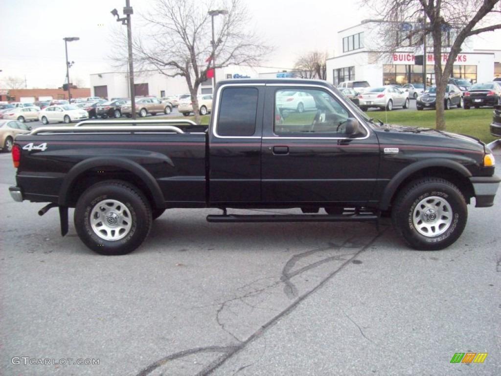Black 1998 mazda b series truck b4000 se extended cab 4x4 exterior photo 59129968 gtcarlot com