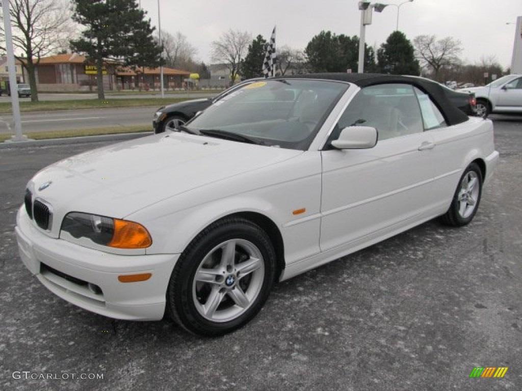 Alpine White BMW 3 Series