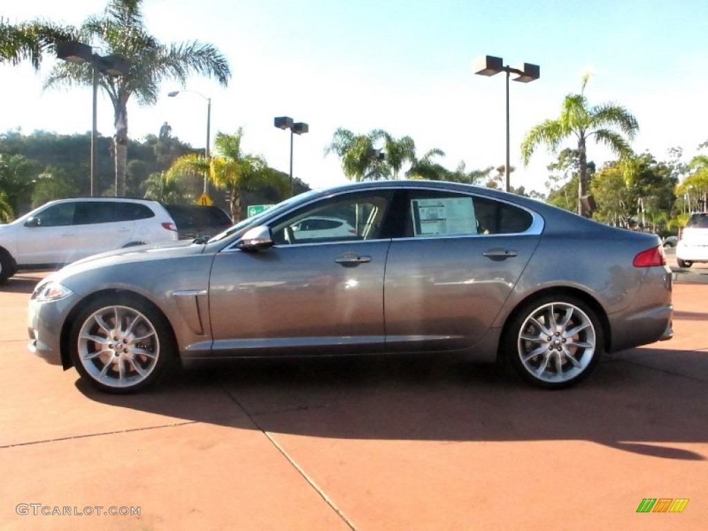2012 lunar grey metallic jaguar xf supercharged 59117044 photo 2 car color. Black Bedroom Furniture Sets. Home Design Ideas