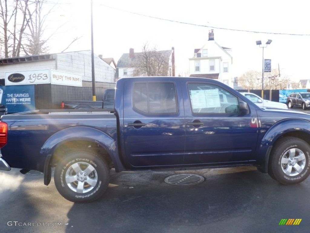 2011 Navy Blue Nissan Frontier Sv Crew Cab 4x4 59117501
