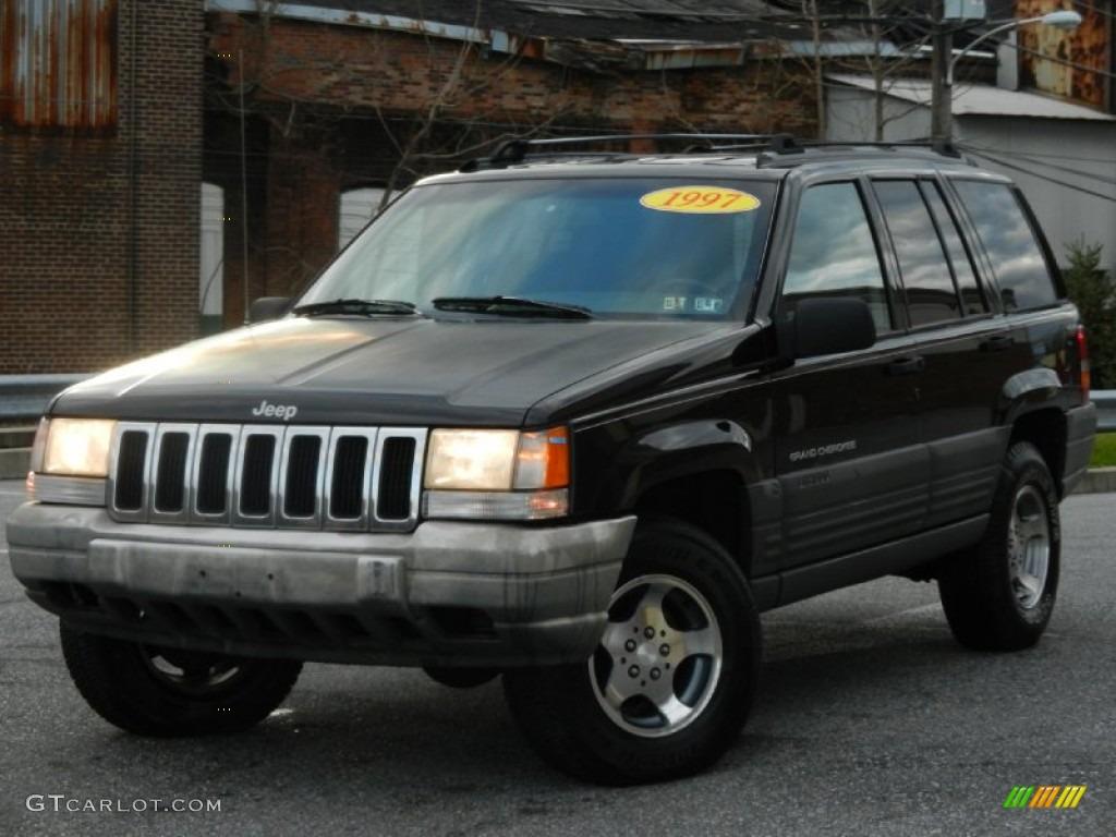 1996 black jeep grand cherokee laredo 4x4 59117493 car color galleries. Black Bedroom Furniture Sets. Home Design Ideas
