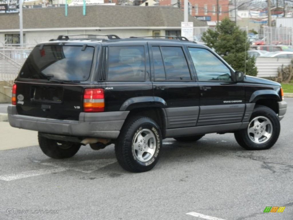 black 1996 jeep grand cherokee laredo 4x4 exterior photo 59144606. Cars Review. Best American Auto & Cars Review