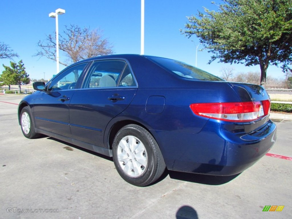 Eternal Blue Pearl 2003 Honda Accord Lx Sedan Exterior