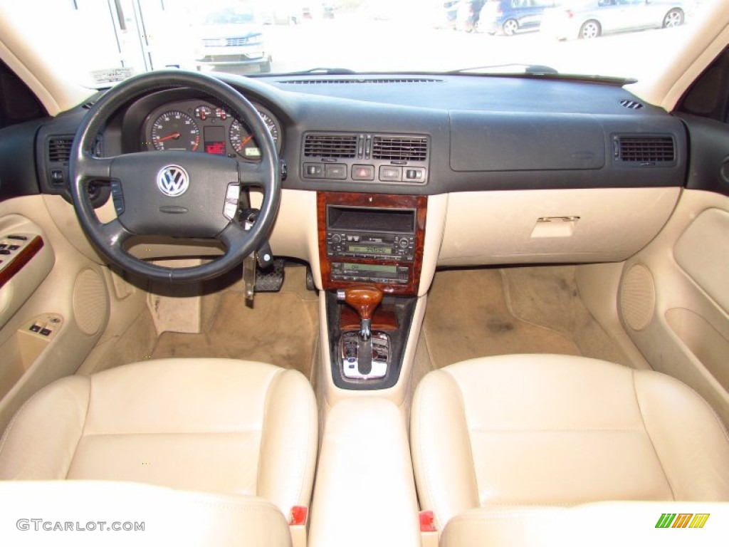 2001 Volkswagen Jetta Glx Vr6 Sedan Beige Dashboard Photo 59147159
