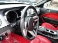 Red Leather Steering Wheel Photo for 2005 Ford Mustang #59149853