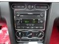 Red Leather Audio System Photo for 2005 Ford Mustang #59149874