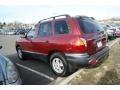 2004 Merlot Red Hyundai Santa Fe   photo #3