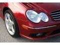 Firemist Red Metallic - CLK 500 Cabriolet Photo No. 19