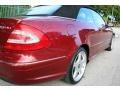 Firemist Red Metallic - CLK 500 Cabriolet Photo No. 24