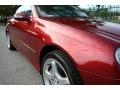 Firemist Red Metallic - CLK 500 Cabriolet Photo No. 25