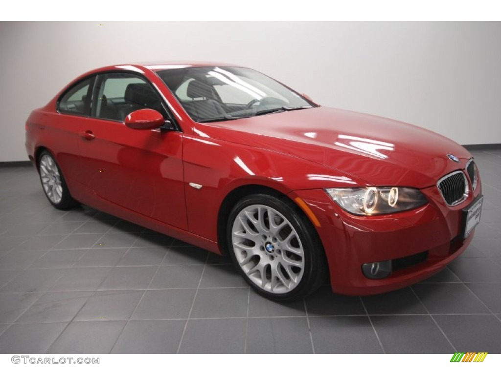 crimson red 2009 bmw 3 series 328i coupe exterior photo 59175512. Black Bedroom Furniture Sets. Home Design Ideas