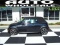 Astro Black Metallic 2008 Mini Cooper S Convertible Sidewalk Edition