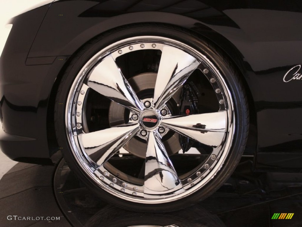 2010 Chevrolet Camaro Ss Rs Coupe Custom Wheels Photo