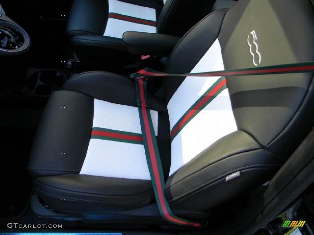500 by gucci nero black interior 2012 fiat 500 gucci photo 59188055. Black Bedroom Furniture Sets. Home Design Ideas